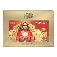 EVE-N LUXURY FACIAL KIT 6 IN 1 BRIDAL WT. 320 G + 15 ML