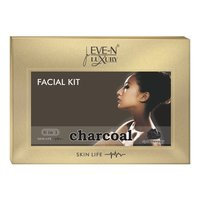 EVE-N LUXURY FACIAL KIT 6 IN 1 CHARCOL WT. 320 G + 15 ML