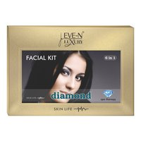EVE-N LUXURY FACIAL KIT 6 IN 1 DIAMOND WT. 320 G + 15 ML