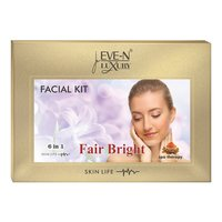 EVE-N LUXURY FACIAL KIT 6 IN 1 FAIR BRIGHT WT. 320 G + 15 ML