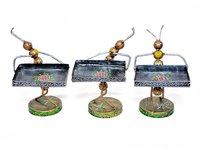 Home Furnish Decorative Iron Painted Catering Ant Statue