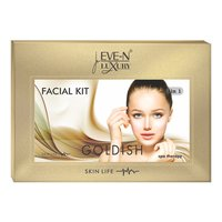 EVE-N LUXURY FACIAL KIT 6 IN 1  GOLDISH  WT. 320 G + 15 ML