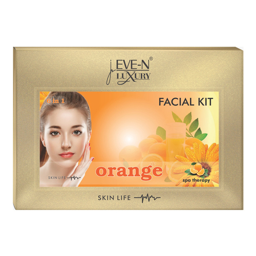 EVE-N LUXURY FACIAL KIT 6 IN 1  ORANGE WT. 320 G + 15 ML