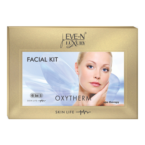 EVE-N LUXURY FACIAL KIT 6 IN 1  OXYTHERM WT. 320 G + 15 ML