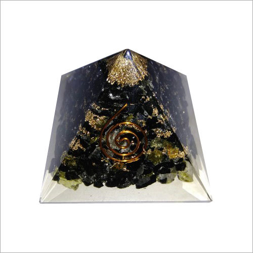 Orgone Black Tulmuli Pyramid