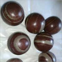 Agate Brown Ruff Ball