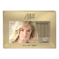 EVE-N LUXURY FACIAL KIT 6 IN 1  SANDAL WT. 320 G + 15 ML