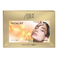 EVE-N LUXURY FACIAL KIT 6 IN 1  TAN  WT. 320 G + 15 ML