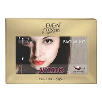 EVE-N LUXURY FACIAL KIT 6 IN 1  WINE  WT. 320 G + 15 ML