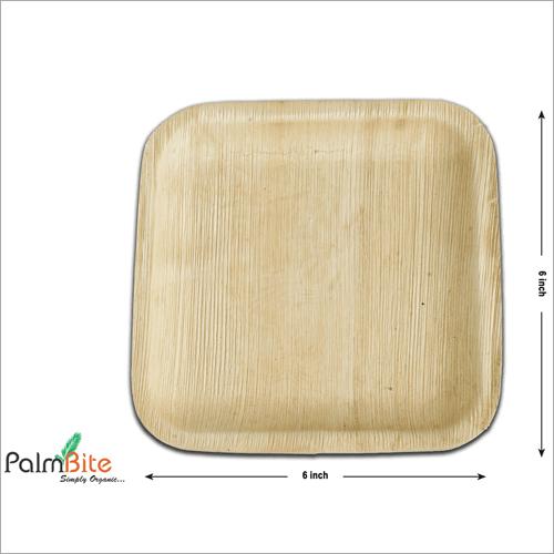 Square Disposable Areca Palm Leaf Plate