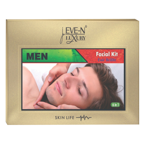 EVE-N LUXURY FACIAL KIT 6 IN 1  MEN  WT. 320 G + 15 ML