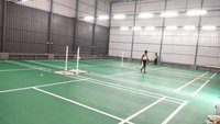 4.5mm Sand texture badminton court Flooring