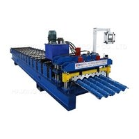 High Quality Glazed Tile Plate Roll Forming Aluminium Machine