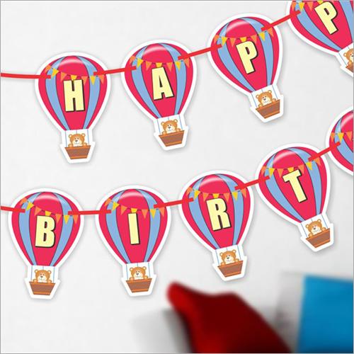 Birthday Banner Parachute