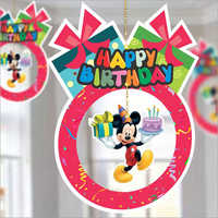Birthday Hanging Banner