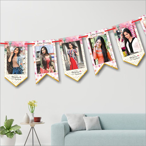 Photo Print Birthday Bunting