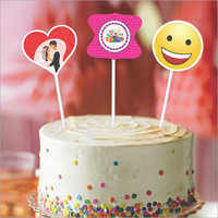 Cake Topper Smiley