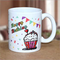 Birthday Printed Coffee Mug