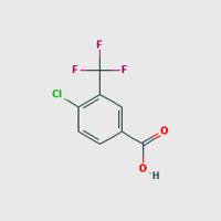 4- Chloro- 3-(trifluoromethy)benzoic acid