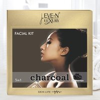 EVE-N LUXURY FACIAL KIT CHARCOAL 5 IN 1  WT. 108 G