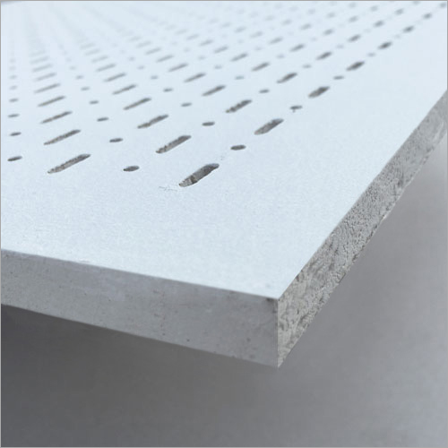 PERFONA - G : Gypsum Perforated Acoustical Panel - Arroyo Perforation