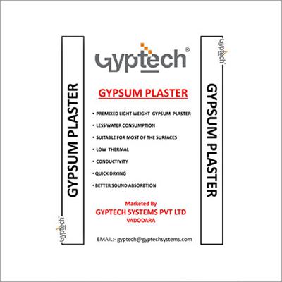 Gyptech Gypsum Plaster