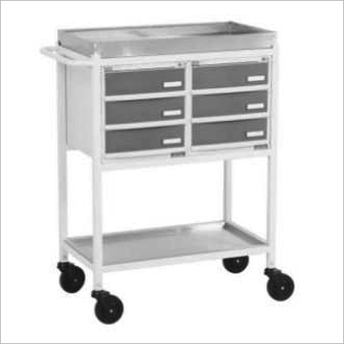 Medicine Trolley With Six Drawer
