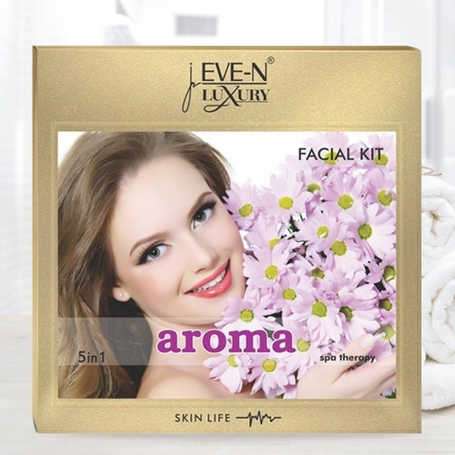 EVE-N LUXURY FACIAL KIT 5 IN 1   AROMA CARE WT. 108 G