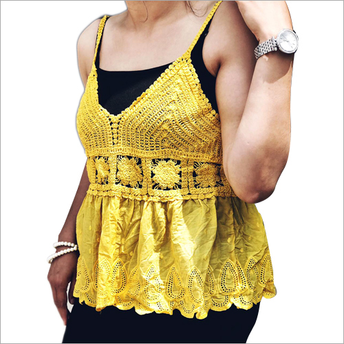 Ladies Designer Crochet Lace Top