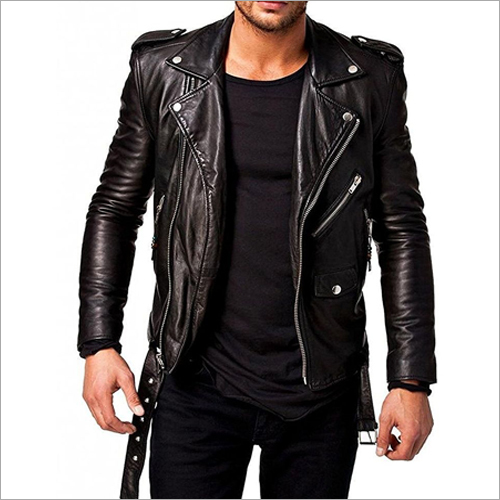 Mens Designer Black Jacket