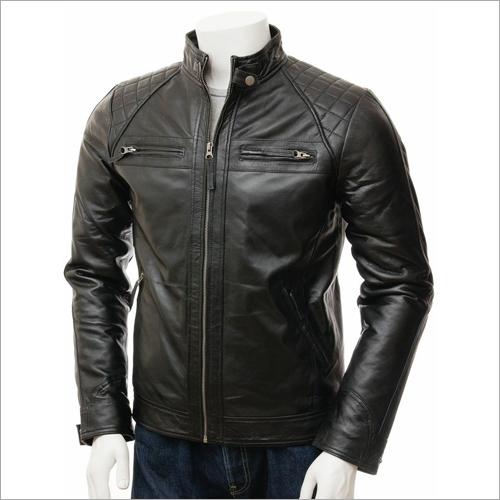 Mens Fancy Leather Jacket