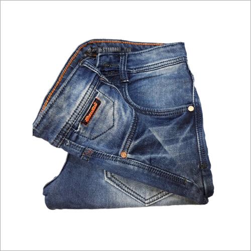 Mens Denim Blue Jeans
