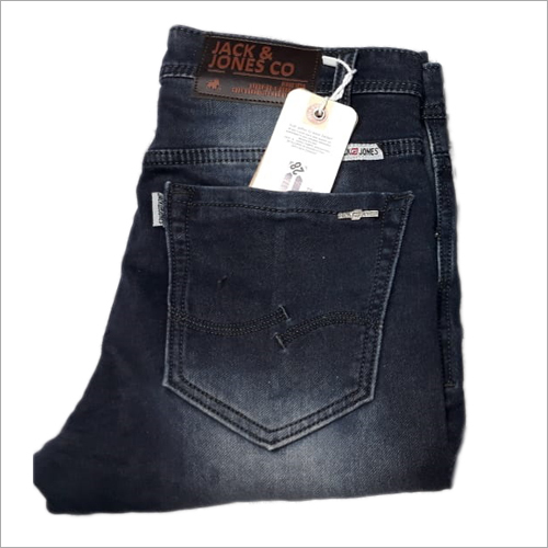 Mens Black Denim Jeans