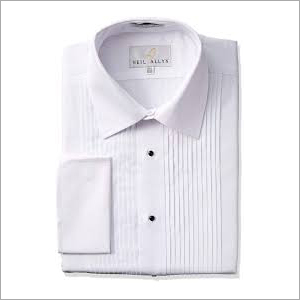 Mens Plain White Shirt