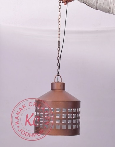 Industrial Rustic Antique Style Copper Hanging