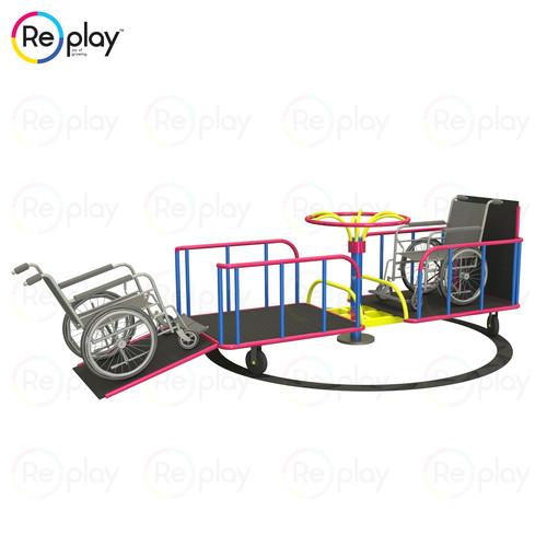 Disable Children Merry Go Round