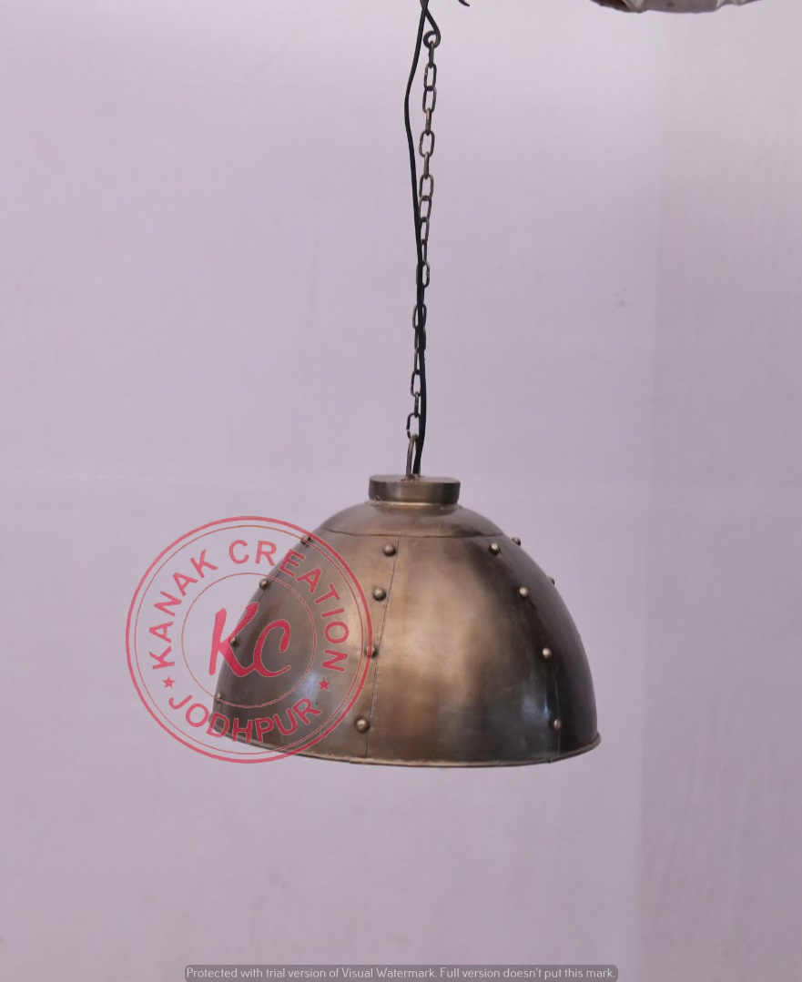 Industrial Curved Lamp Pendant Lamp