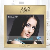 EVE-N LUXURY FACIAL KIT 5 IN 1   DIAMOND  WT. 108 G