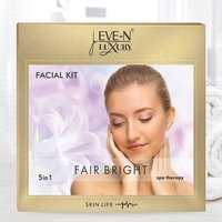 EVE-N LUXURY FACIAL KIT 5 IN 1 FAIR  BRIGHT  WT. 108 G