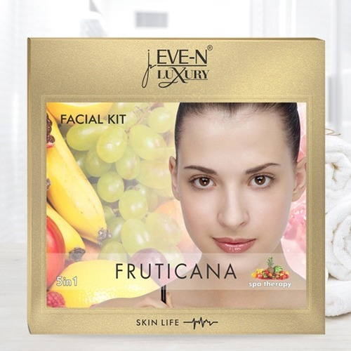 EVE-N LUXURY FACIAL KIT 5 IN 1  FRUTICANA  WT. 108 G