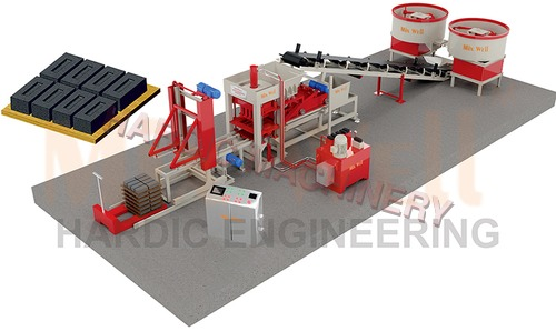 Fly Ash Brick Making Machine (FAM-1440)