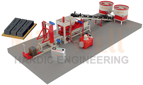 Fly Ash Brick Making Machine (FAM-1080)