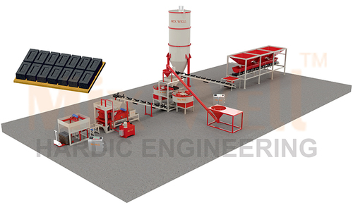 Automatic Fly Ash Brick Making Machine (FAM-2520)