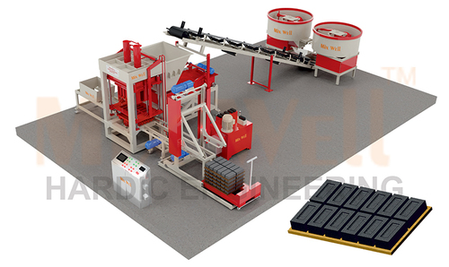 Automatic fly ash brick making machine (FAM-2160)