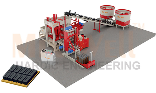 Fully Automatic Fly Ash Brick Making Machine (FAM-1800)