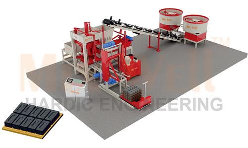 FullyAutomatic Fly Ash Brick Making Machine (FAM-1800)