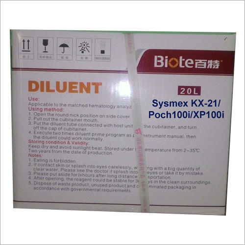 Diluent 20 L  For Sysmex