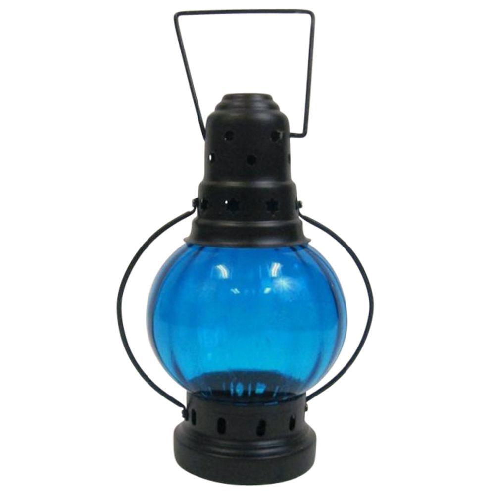 Iron Candle Lantern Round