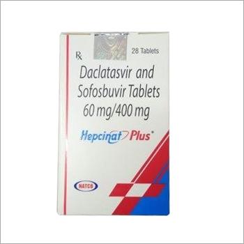 Daclatasvir 60mg And Sofosbuvir 400mg
