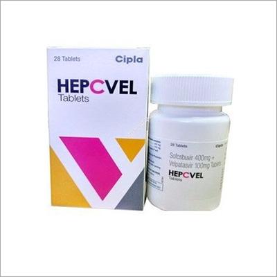 400 mg Sofosbuvir 100mg Velpatasvir